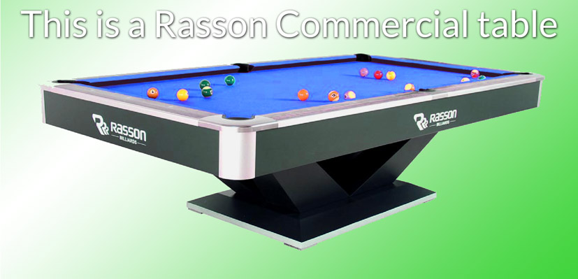 Rasson Commercial Pool Table